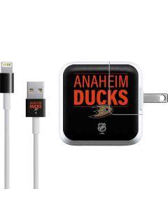 Anaheim Ducks Lineup iPad Charger (10W USB) Skin