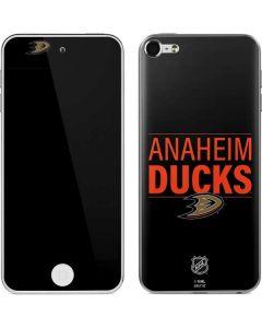 Anaheim Ducks Lineup Apple iPod Skin