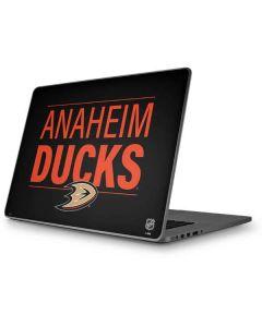 Anaheim Ducks Lineup Apple MacBook Pro 17-inch Skin