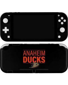 Anaheim Ducks Lineup Nintendo Switch Lite Skin