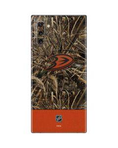 Anaheim Ducks Realtree Max-5 Camo Galaxy Note 10 Skin