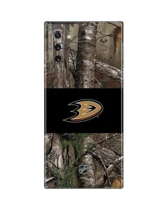Anaheim Ducks Realtree Xtra Camo Galaxy Note 10 Skin