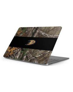 Anaheim Ducks Realtree Xtra Camo Apple MacBook Pro 16-inch Skin