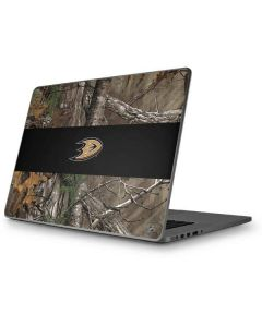 Anaheim Ducks Realtree Xtra Camo Apple MacBook Pro 17-inch Skin