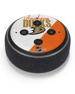 Anaheim Ducks Script Amazon Echo Dot Skin