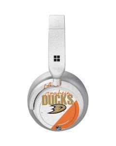 Anaheim Ducks Script Surface Headphones Skin