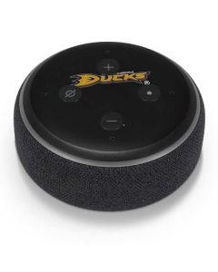 Anaheim Ducks Solid Background Amazon Echo Dot Skin