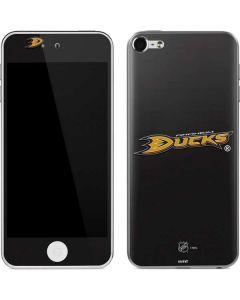 Anaheim Ducks Solid Background Apple iPod Skin