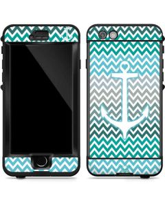 Anchor of Love- Aqua LifeProof Nuud iPhone Skin