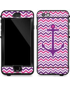 Anchor of Love- Pink LifeProof Nuud iPhone Skin
