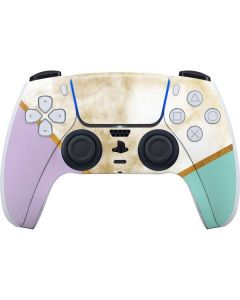 Angled Marble PS5 Controller Skin