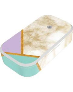 Angled Marble UV Phone Sanitizer and Wireless Charger Skin