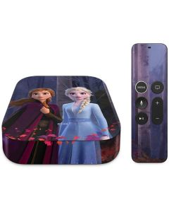 Anna and Elsa Apple TV Skin
