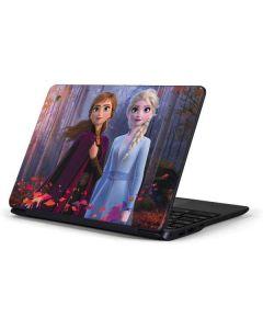 Anna and Elsa Samsung Chromebook Skin