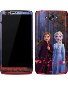 Anna and Elsa Motorola Droid Skin