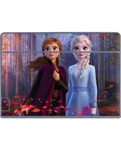 Anna and Elsa Galaxy Book Keyboard Folio 12in Skin