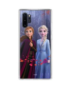 Anna and Elsa Galaxy Note 10 Plus Clear Case