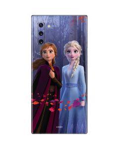 Anna and Elsa Galaxy Note 10 Skin