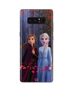 Anna and Elsa Galaxy Note 8 Skin