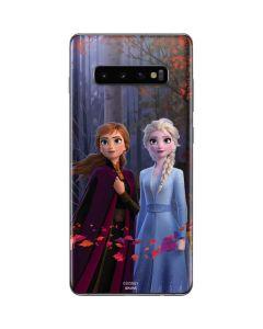 Anna and Elsa Galaxy S10 Plus Skin