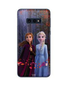 Anna and Elsa Galaxy S10e Skin