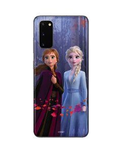 Anna and Elsa Galaxy S20 Skin