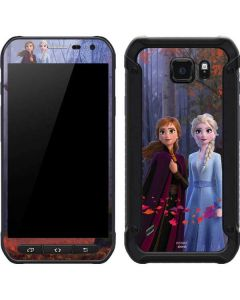 Anna and Elsa Galaxy S6 Active Skin