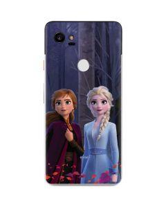 Anna and Elsa Google Pixel 2 XL Skin