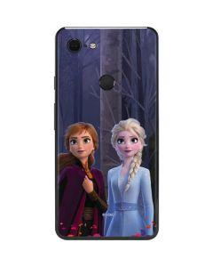 Anna and Elsa Google Pixel 3 XL Skin