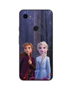 Anna and Elsa Google Pixel 3a Skin