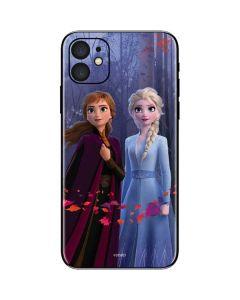 Anna and Elsa iPhone 11 Skin
