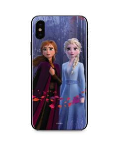 Anna and Elsa iPhone XS Max Skin