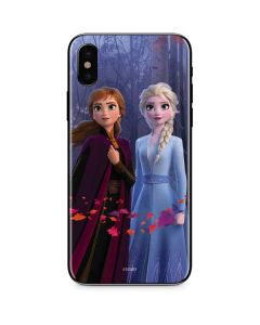 Anna and Elsa iPhone XS Skin
