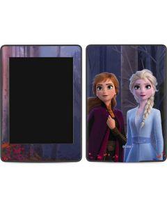 Anna and Elsa Amazon Kindle Skin