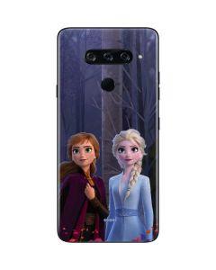 Anna and Elsa LG V40 ThinQ Skin