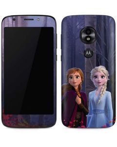 Anna and Elsa Moto E5 Play Skin