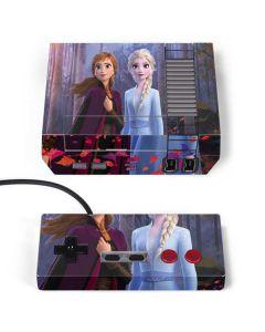 Anna and Elsa NES Classic Edition Skin
