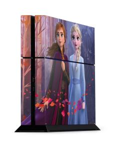 Anna and Elsa PS4 Console Skin