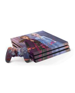 Anna and Elsa PS4 Pro Bundle Skin