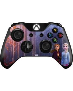 Anna and Elsa Xbox One Controller Skin