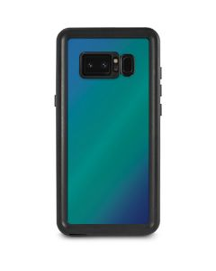 Aqua Blue Chameleon Galaxy Note 8 Waterproof Case