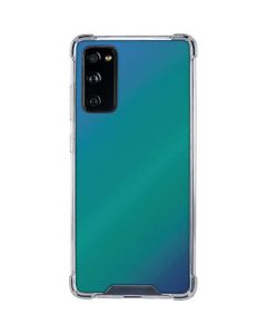 Aqua Blue Chameleon Galaxy S20 FE Clear Case