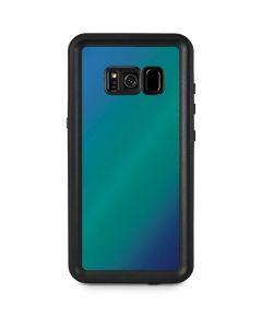 Aqua Blue Chameleon Galaxy S8 Plus Waterproof Case