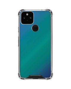 Aqua Blue Chameleon Google Pixel 5 Clear Case