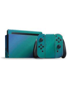 Aqua Blue Chameleon Nintendo Switch Bundle Skin