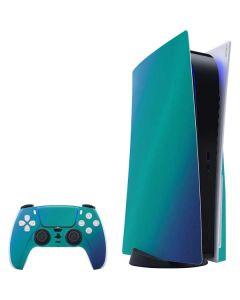 Aqua Blue Chameleon PS5 Bundle Skin