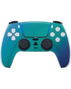 Aqua Blue Chameleon PS5 Controller Skin