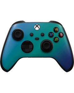 Aqua Blue Chameleon Xbox Series X Controller Skin