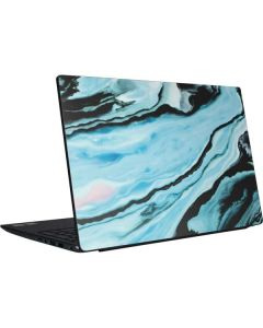 Aqua Blue Marble Ink Dell Vostro Skin