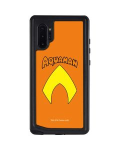 Aquaman Official Logo Galaxy Note 10 Plus Waterproof Case